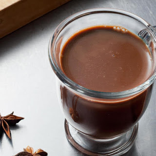 Double Anise Hot Chocolate