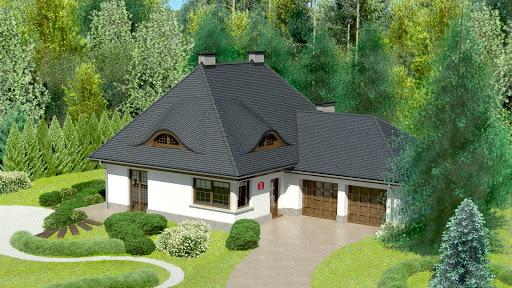 projekt Dom przy Malowniczej 2