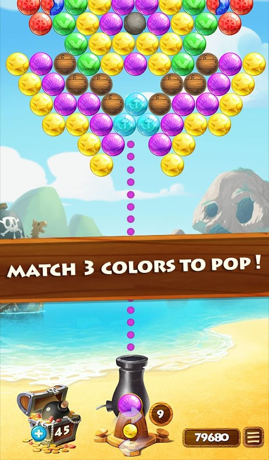 Bubble Shooter Treasure- screenshot