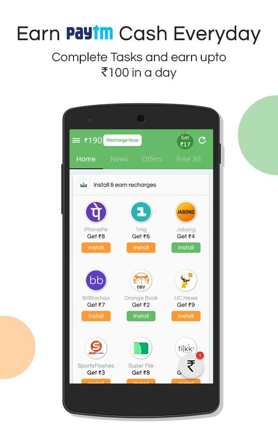 Get Wallet Cash & Recharge- screenshot