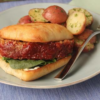 Meatloaf Sandwich.