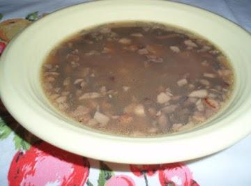 Mushroom And Steak Soup Recipe