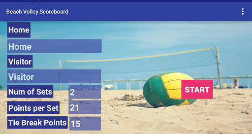 Beach Volleyball Scoreboard+