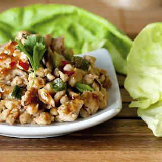 SM Leach Asian Bistro Chicken Lettuce Wraps