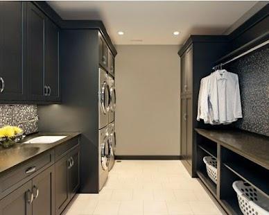 Minimalist Laundry Room Design Design Ideas Minimalist Laundry Room Design With Pink Accent Ideas