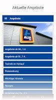 Screenshot of ALDI SÜD – Angebote & Filialen
