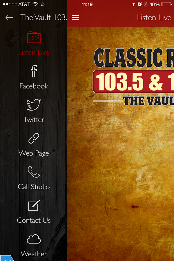 The Vault 103.5- screenshot