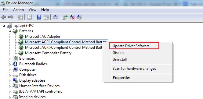 Xem ngay cách xử lý laptop không nhận pin