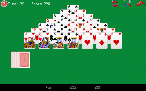 Pyramid Solitaire screenshots 1