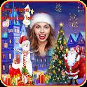 Merry Christmas-New Year Photo Frame 2020 &Sticker icon