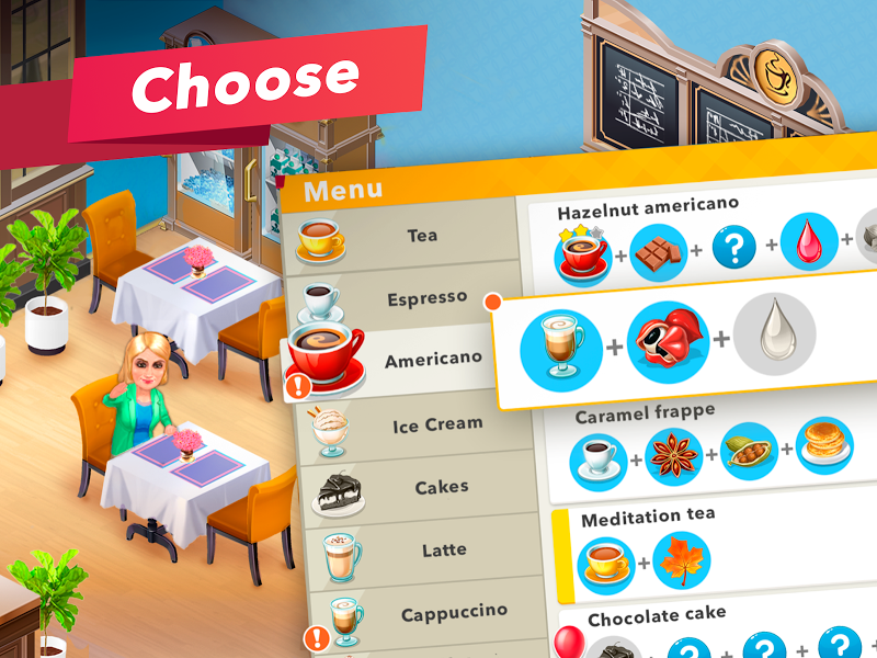 My Cafe — Restaurant game Screenshot 8