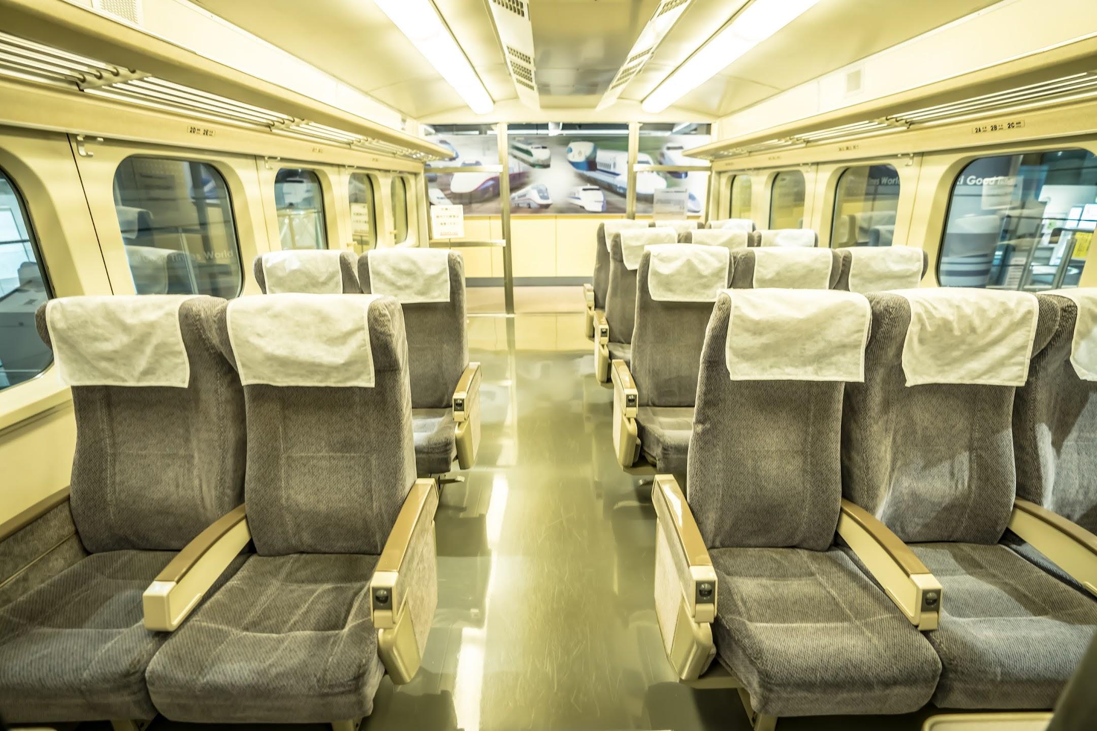 Kobe Meriken Park Kawasaki Good Times World shinkansen bullet train2