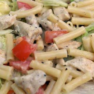 Caesar Chicken Pasta Salad.