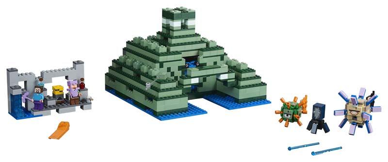 Contenido de Lego® 21136 Monumento Oceánico