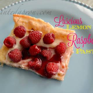 Luscious Lemon Raspberry Pastry.