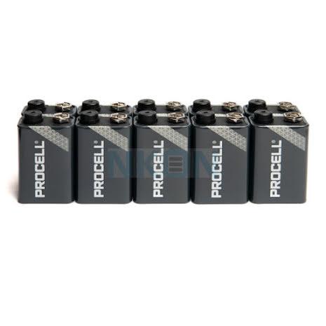 Duracell Procell Alkaline 9V 10-pack