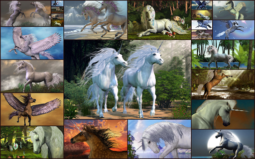Unicorns Jigsaw Puzzles Game - Kids & Adults ud83eudd84  screenshots 1