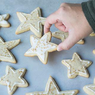 Walnut Sugar Cookie Stars