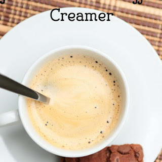 French Vanilla Coffee Creamer.