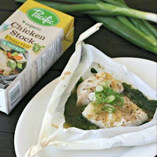 Sesame Cod en Papillote with Ginger and Scallions