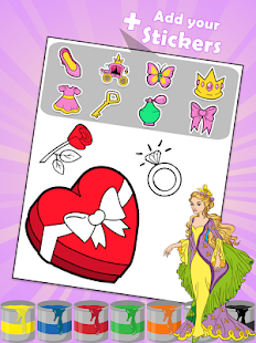 Beauty Coloring Book- screenshot thumbnail