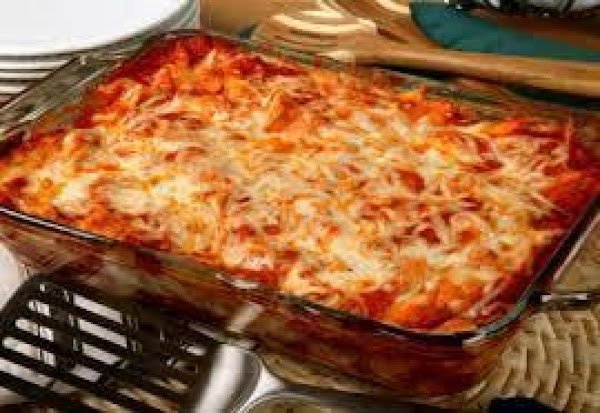 Vegetarian Baked Ziti  Casserole Recipe