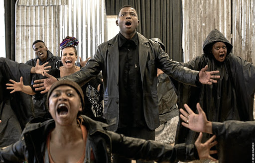 Talented gang: Tsotsi: The Musical — staged at the Artscape Theatre in Cape Town — is a fresh interpretation of Athol Fugard's novel featuring contemporary Afro-fusion choreography, new plot twists, an edgy score and fresh characters. Picture: JESSE KRAMER