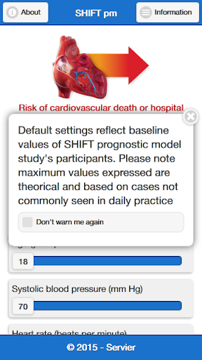 SHIFT Prognostic model