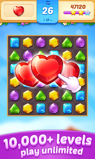 Télécharger Gratuit Jewel Town - Most Match 3 Levels Ever APK MOD (Astuce) screenshots 1