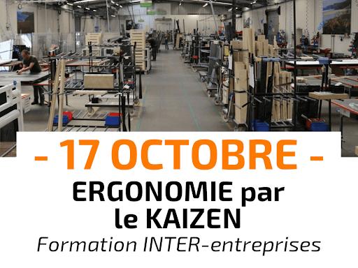 Ergonomie par le Kaizen Formation INTER-entreprises