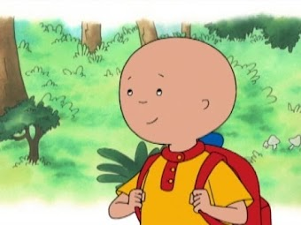 Caillou's Coins/Canoe Trip/Caillou and the Bulldozer/Caillou the Firefighter/Caillou the Timekeeper