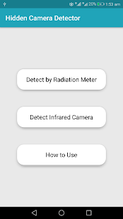 Hidden Camera Detector and Locator - náhled