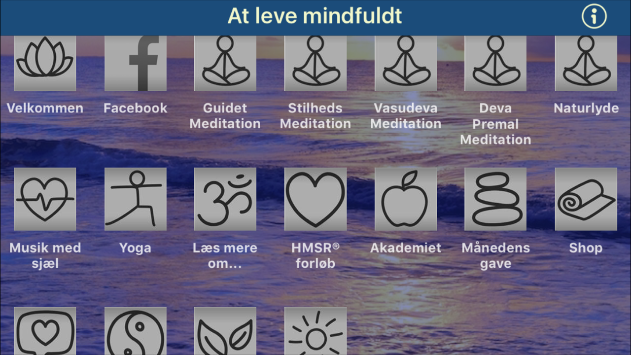 At leve mindfuldt- screenshot