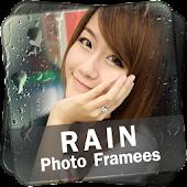 Rain Photo Frame Collage