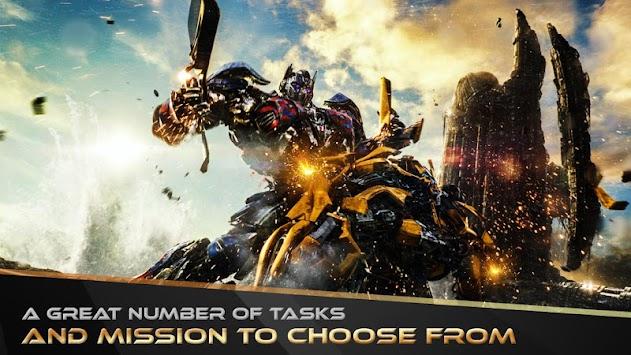 US Transforming Robot Fighting Game apk screenshot