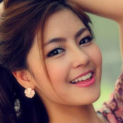 asian girl wallpaper
