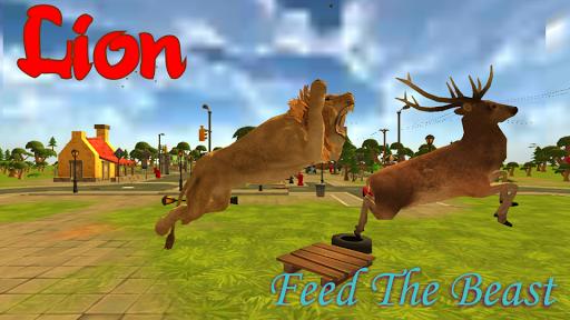 Lion Simulator City Attack 3D