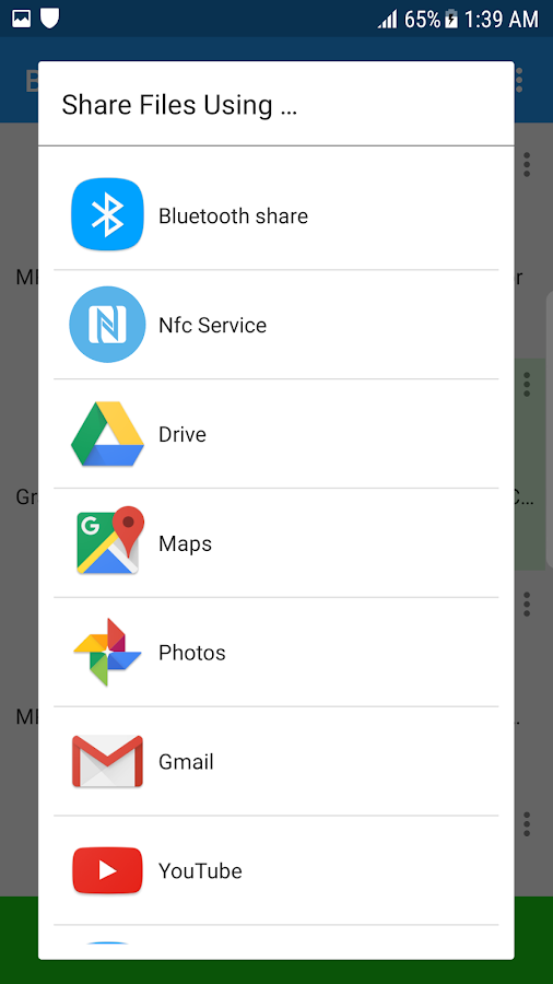 Bluetooth App Sender APK Share- screenshot