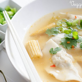 Dumpling Soup With Bok Choy Recipes