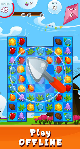 Match 3 game - blossom flowers android2mod screenshots 2