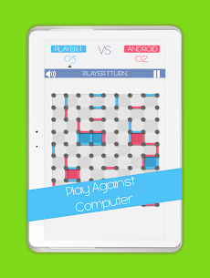 Dots and Boxes game 10