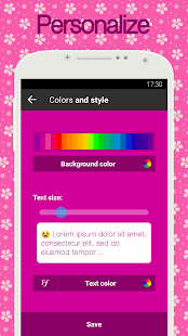 Diary with lock for PC-Windows 7,8,10 and Mac apk screenshot 4