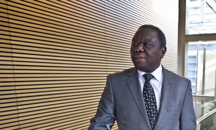 "Prime Minister of Zimbabwe, Morgan Tsvangirai at the World Economic Forum on Africa on May 10, 2013. This year's Forum will be held from 8 to 10 May, and ""Delivering on Africa's Promise"" is this year's title."