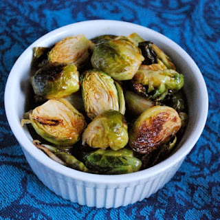 Brussels Sprouts with Sriracha, Lime, Honey Glaze