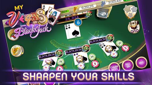 myVEGAS Blackjack 21 - Free Vegas Casino Card Game 1.23.0 Mod screenshots 3