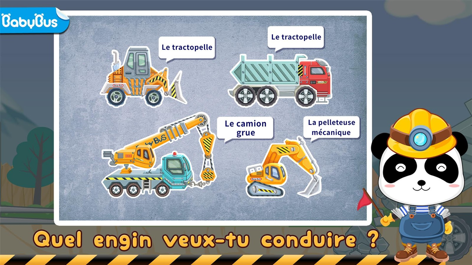véhicules de chantier eveil u2013 applications android sur google play