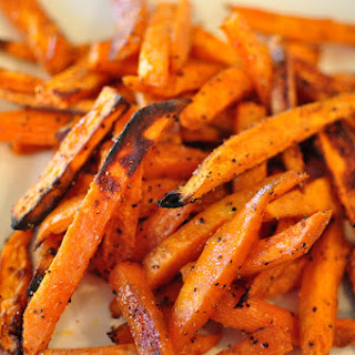 Baked Sweet Potato Fries.