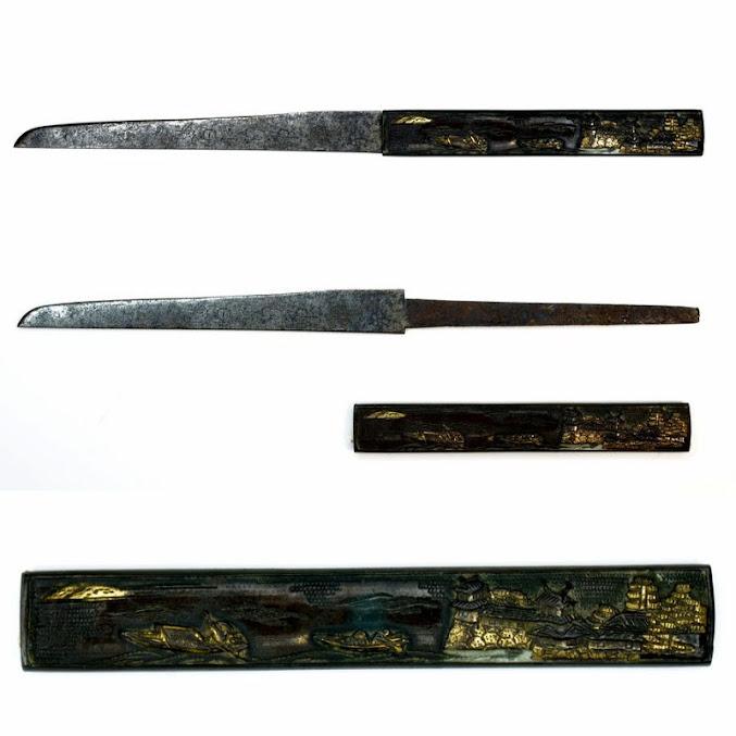 Японский меч Вакидзаси кузнеца Sukesada