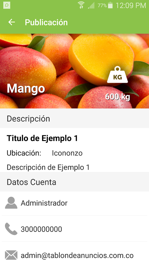 Tablón de Anuncios- screenshot