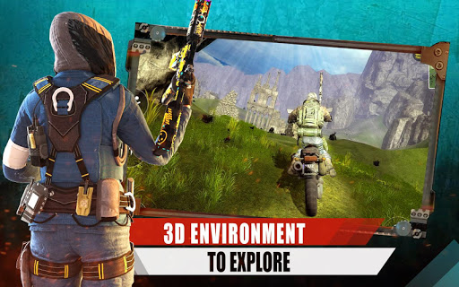 Squad Free Fire Epic Survival Battlegrounds 3D 1.1 screenshots 6